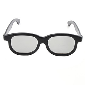 Re-useable Resin Lens 3D Frameless Glasses