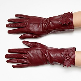 Sheepskin Wrist Length Gloves (More Colors)