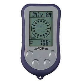 Digital Altimeter Compass(Thermometer,Backlight)6 in 1