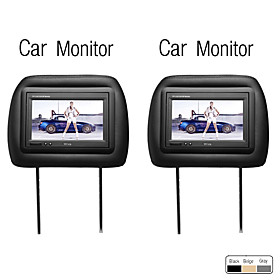 7 Inch Car Headrest Monitor, 1 Pair