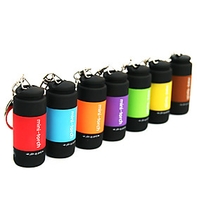 USB Powered Rechargeable Mini LED Flashlight (Assorted Colors)