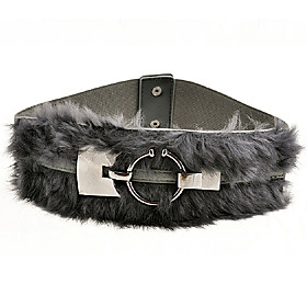 TS Modern Rabbit Fur Belt (More Color)