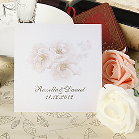 Invitation Card - Tender Flower (set of 50)