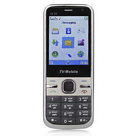 C510 - Dual SIM 2.5 Inch Bar Cellphone(TV Dual Camera)
