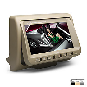 8 Inch Digital Screen Car Headrest Mountable DVD Player (FM Transmitter, USB/SD, Game)