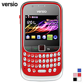 Versio Sunrise - Dual SIM 2.2 Inch Qwerty Keyboard Cell Phone (WiFi, Dual Camera)