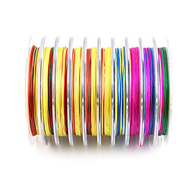 8 Line Multicolor Fishing Dynimma Line 100 Meters