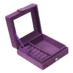 Sweet Girl's Compact Jewelry Box