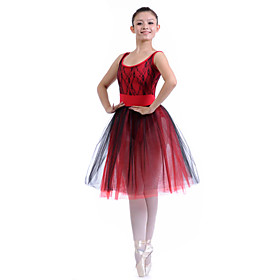Dancewear Tank Leotard With Tutu Ballet Dress for Women