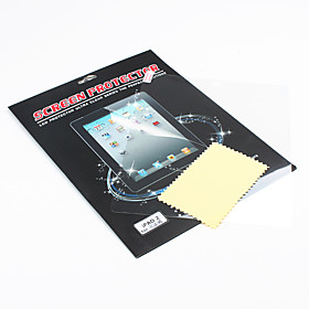 Protective Screen Guard  Cleaning Cloth for iPad 2 and The new iPad (Transparent)
