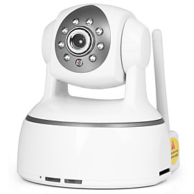 H.264 PTZ Wireless IP Camera (SD Card Recording, as Baby Monitor, iPhone Support)
