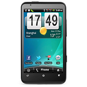 Starbright 2 - 3G Android 2.3 Smartphone with 4.3 Inch Capacitive Touchscreen (Dual SIM, GPS, WiFi)