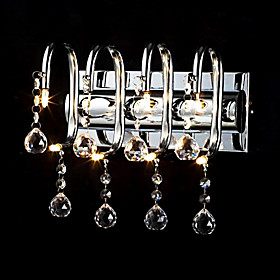 Stylish Crystal Wall Light with 8 Lights