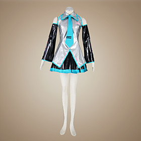 Vocaloid Hatsune Miku Superalloy Cosplay Costume