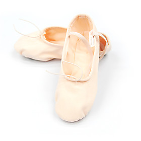 Canvas Upper Dance Shoes Ballroom Split-sole Ballet Slipper for Women/ Men/ Kids