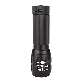 180-lumen LED Adjustable Focus Zoom Waterproof Torch Mini Flashlight