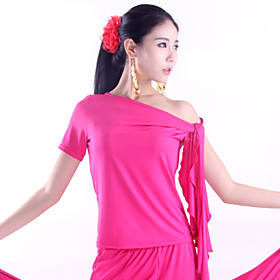 Dancewear Polyester PracticeTops For Ladies More Colors