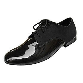 Customize Performance Dance Shoes Real Leather Upper Modern Shoes for Men