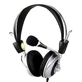 3.5mm Stereo MJ-600MV Over-ear Headphone with Microphone