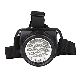 17 LED Ultra Bright Long Shot Durable Headlamp Black