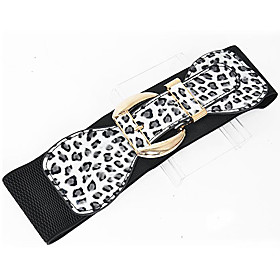 TS Leopard Print Wide Belt (More Color)