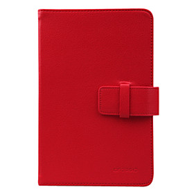 High Quality Synthetic Leather Case Cover for 7 Inch Tablet PC - Red