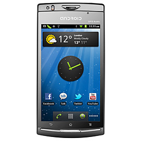 Cylon Pro - Android 2.3 Smartphone with 4.3 Inch Capacitive Touch Screen (Dual SIM, WIFI, GPS)
