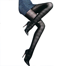 TS Striped Slimming Pantyhose