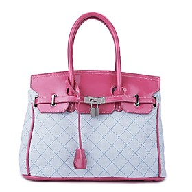 TS Lock Handle Tote Bag (More Colors)(37cm 25cm 16cm)