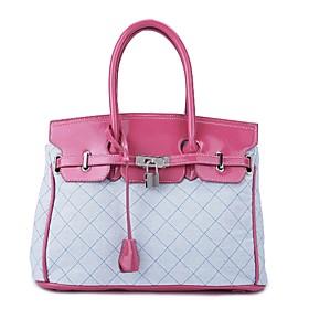 TS Lock Handle Tote Bag (More Colors)(37cm 25cm 16cm)