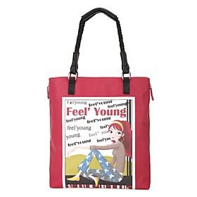 TS Feel Young Shoppers Tote Bag (More Colors)(33cm 38cm 10cm)