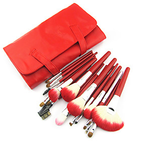 Charming Sable Hair Brush Set(24 Pcs)