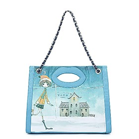 TS Blue Dream Girl Lip Tote Bag(35cm 39cm 10cm)