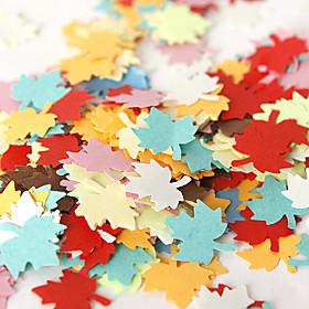 Colorful Maple Confetti (Bag of 350 pieces)