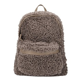 TS Fuzzy Backpack (More Colors)(34cm 38cm 16cm)