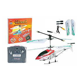 RC Helicopter Remote Control Mini Radio Control Radio Control Helicopters RC Toys (Red)(YX02628R)
