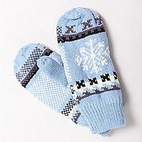 TS Old Fashion Snow Flake Mittens