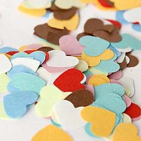 Colorful Heart Confetti (Bag of 350 pieces)
