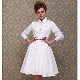 TS VINTAGE Skirt Blouse Full Swing Dress