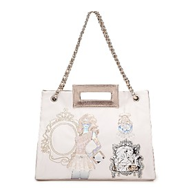 TS Vintage Girl Handle Tote Bag(36cm 29cm 10cm)