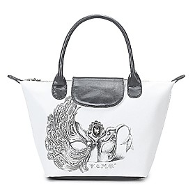 TS Venetian Mash Print Tote Bag (More Colors)(39cm 26cm 15cm)
