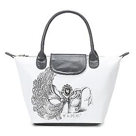 TS Venetian Mash Print Tote Bag (More Colors)(39cm 26cm 15cm)