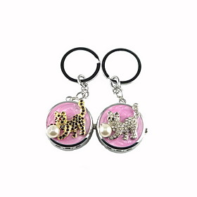 Cute Cat and Ball Keychain Watch (Random)