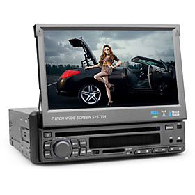 7 Inch Digital Screen 1 Din Car DVD Player (TV, Bluetooth, RDS)