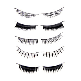 Fashion Lashes - 50 Pairs False Eyelash Mixes Style