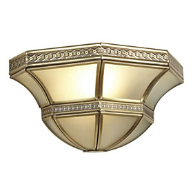 Antique Inspired Flush Mount with 1 Light