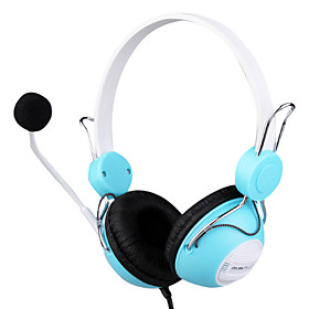 3.5mm Stereo MJ-670MV Fashion Over-ear MP3/MP4 Headphone With Microphone