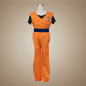 Dragon Ball Goku Cosplay Costume (King Kai Version)