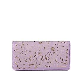 TS Glitter Print Long Wallet (More Colors)(18.5cm 2cm 10cm)