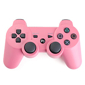 Rechargeable USB DualShock 3 Wireless Controller for PS3 (Pink)